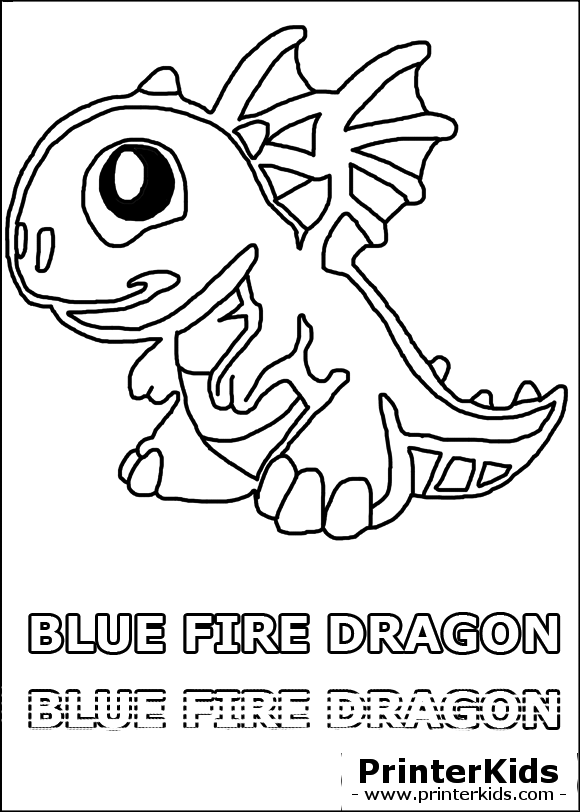 pin blue fire dragon coloring pages on pinterest